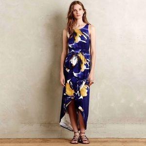 Anthropologie Weston Manzanita Floral Maxi Dress